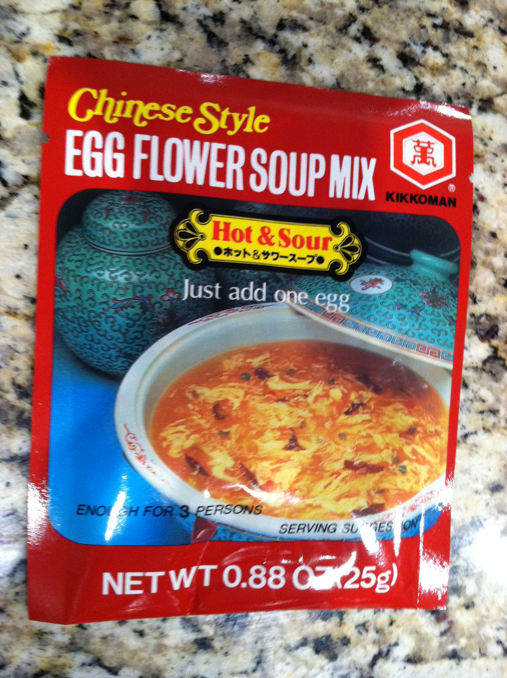 Egg Flower Soup Mix vs. Homemade Chicken Soup | Two Happy Cooks