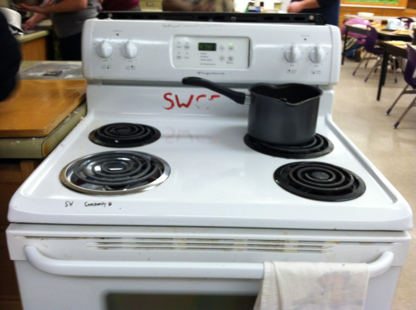 Labeled Oven